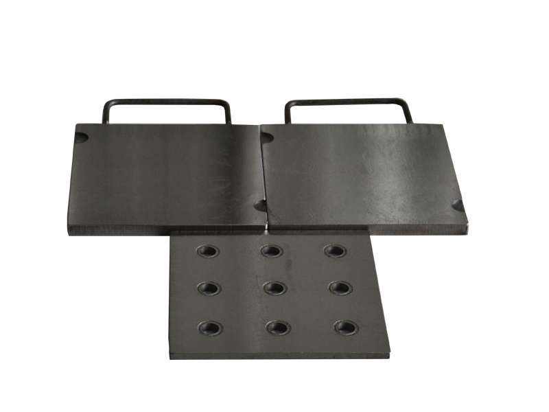 Rubber hardness mold